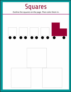 circle the circles fun math worksheet